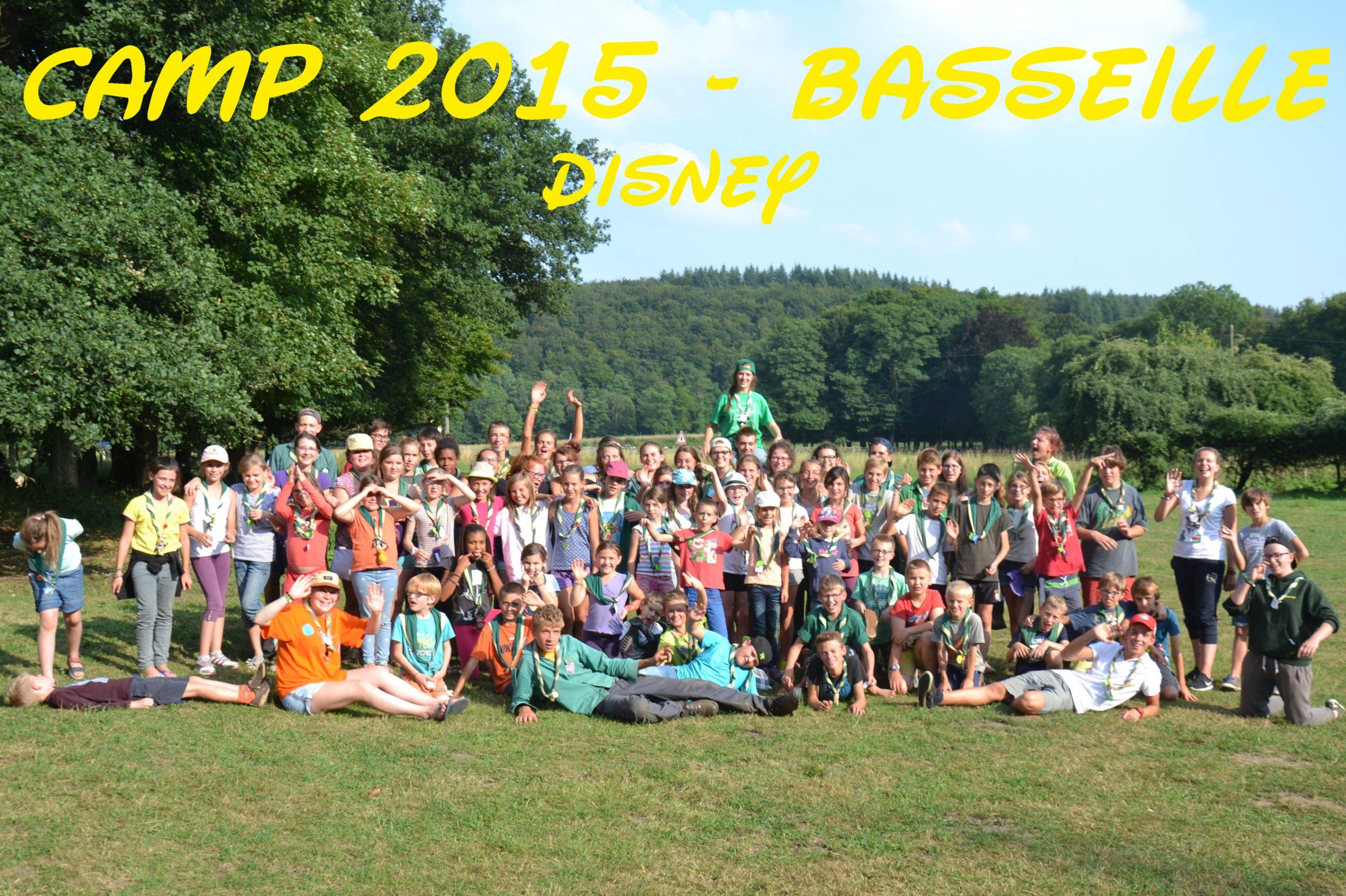 Camp 2015 - Basseille - Disney