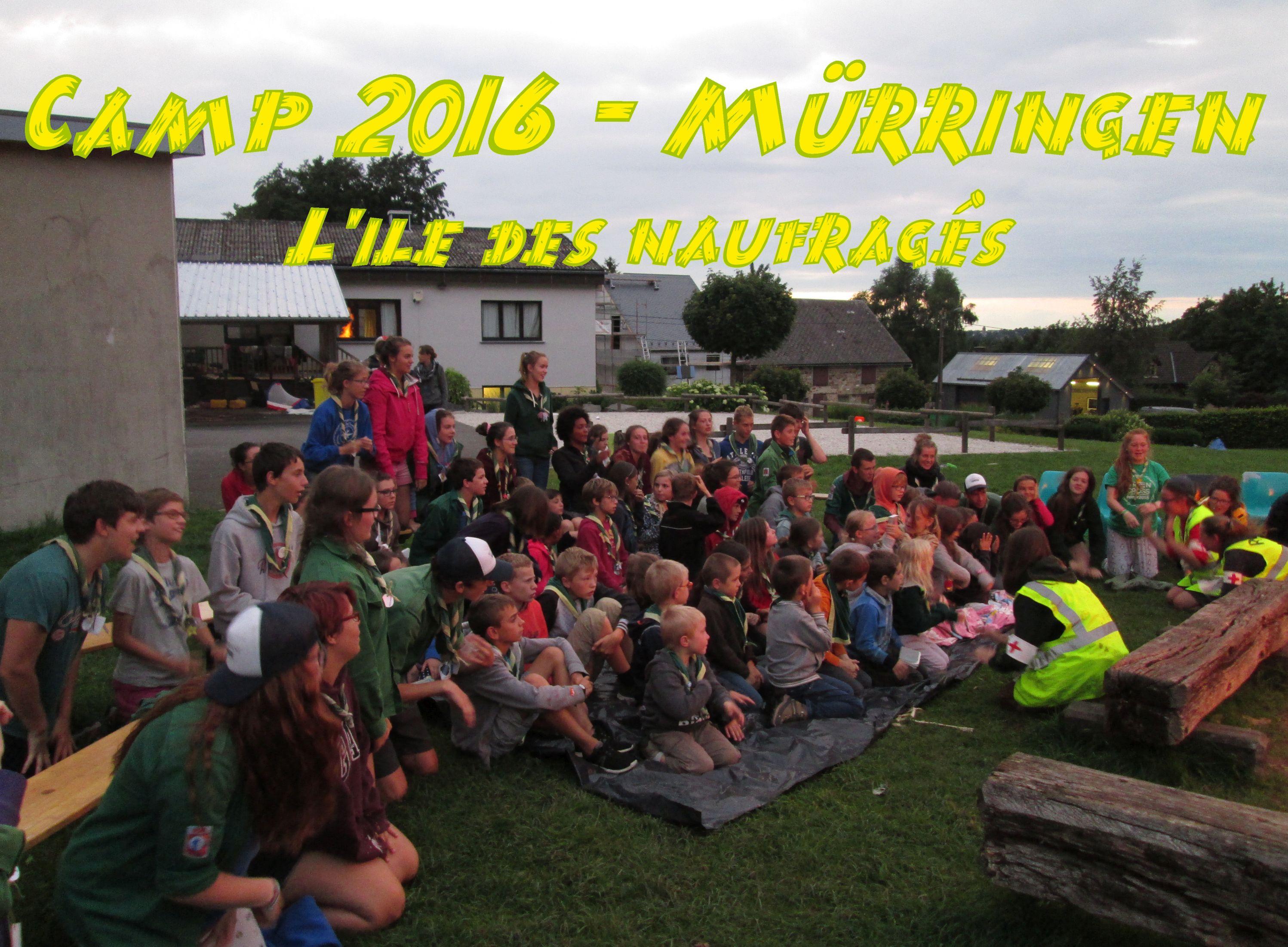 Camp 2016 - Mürringen - L`île des naufragés