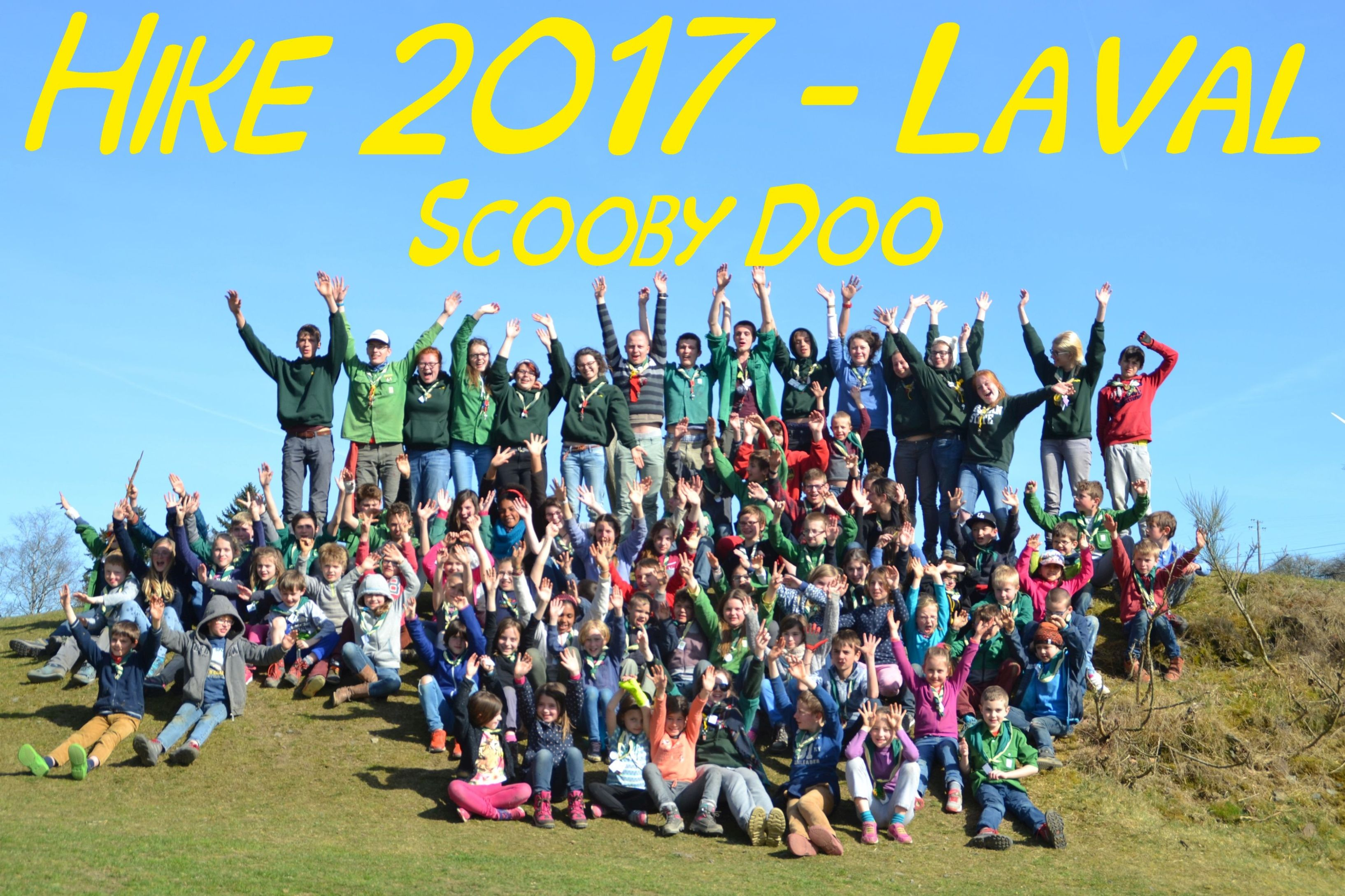 Hike 2017 - Laval - Scooby doo